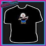JASON SCARY CARTOON WEE MAN TSHIRT